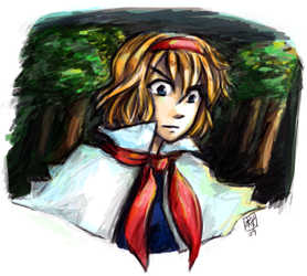 Another doodle of Alice by blameshiori