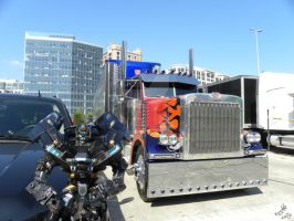 TF3: Optimus and Ironhide III by Letohatchee