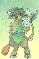 Little Monsters Minotaur by Wulfemoon