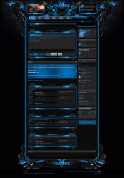 Xenforo Theme Enforcer Blue by Nulumia by Nulumia