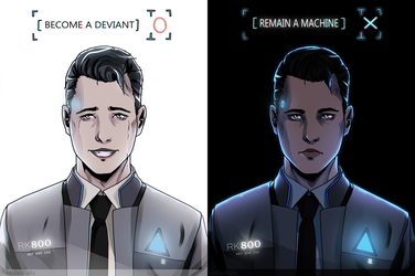[Detroit:Become Human] Machine or Deviant? by xXMarilliaXx