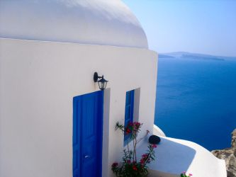 Santorini II by Milk-cream