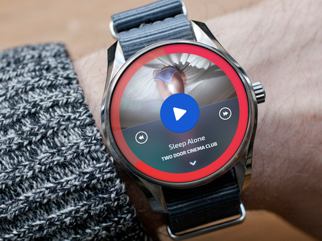 Android Wear - Player concept by Danlosant