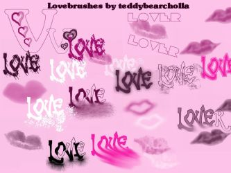Lovebrushes by teddybearcholla