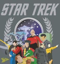 The Star Trek by Hawkmac