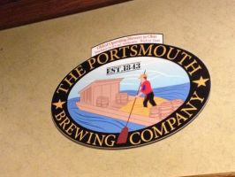 Portsmouth Brewing Company Sign by IndigoFlamingo