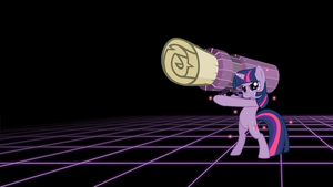Learn this - Twilight Sparkle Wallpaper by smokeybacon