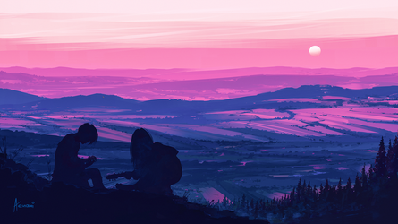 Top of the World by Aenami