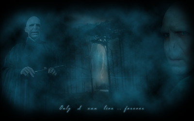 Voldemort HP7 wallpaper by edvordo