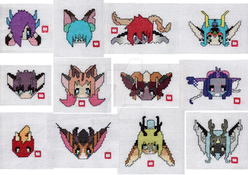 CrossStitchCharacters by Ginpu