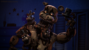 Nightmare Freddy by HectorMKG [4k] by TF541Productions