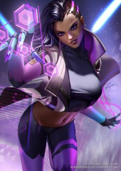 Sombra by zumidraws