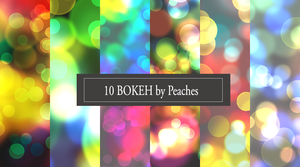 Bokeh Pack 3 by JU5TPeachy