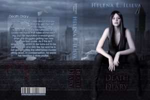 Death Diary - Book Cover by whitewinged