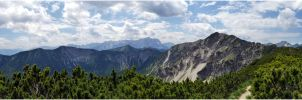 Bavarian mountains I by lomartistic