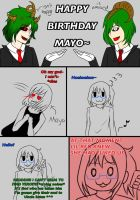 HAPPY BIRTHDAY MAYO!!! by RedPhoenixAsh