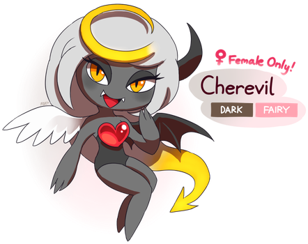 FAKEMON: Cherevil by Master-Rainbow