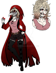[ CP/ HORROR OC ] Concept of MOJP by LiaWorlds