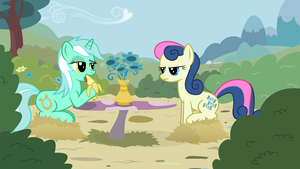 Bonbon does not approve of your Banana by Kalas17