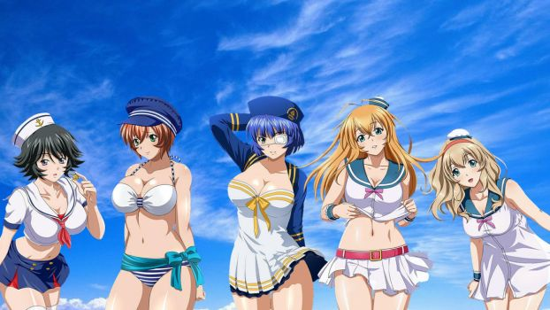 IkkiTousen Sailor Girls 1920x1080 By Infamous20666 by Infamous20666
