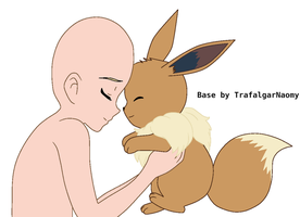 Pokemon Base with Eevee by TrafalgarNaomy