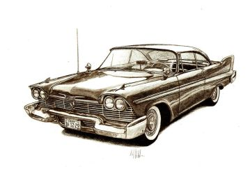 1958 plymouth belvedere by tin23uk