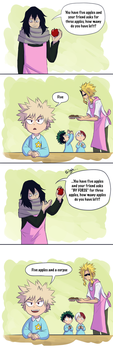 Boku No Hero Academia - Five Apples by TC-96