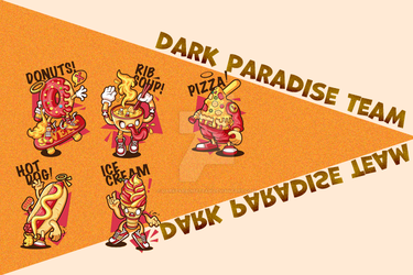 Pack PNG 07 //  Lovely illustrations by DarkParadiseteam