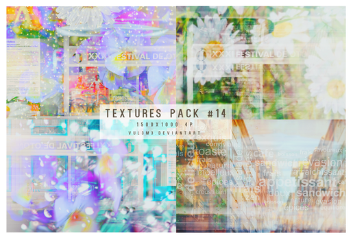 Textures pack #14 4P By vul3m3 by vul3m3
