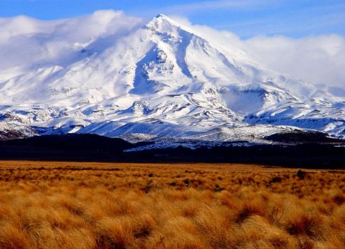 New Zealand Volcano by Geotripper