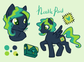 Needle Point OC by Arualsti