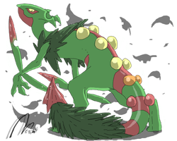 the gecko from konohagakure by blackwinged-neotu