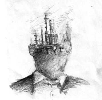 true detective abstract sketch by fyobyber
