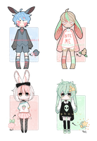 [closed] bun bbies adopts - collab by ghousu