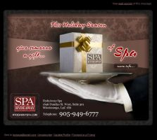 Newsletter: Give a Gift of Spa by enigmaticstudio