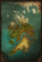 Worldmap - Continent by PicanteSemmy