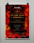 poster (we are your friends) by OlgaRed-Archer