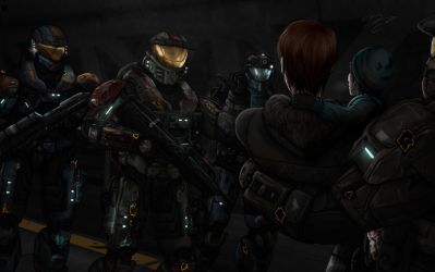 Halo Quiver to Arrows: Eir's Tunnel by Guyver89