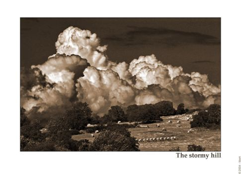 The stormy hill by mordoc