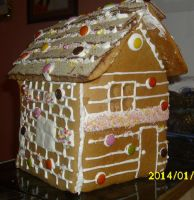 Christmas House Try 1 ^^ by ditkata