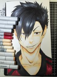 Kuroo Tetsuro from Haikyuu!! by tinaditte