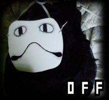 OFF - Zacharie - Frog Mask and Backpack by GoodDokCosplay