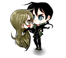 Leva And Ryu Chibis by LevaDakot