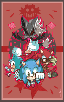 SONIC FORCES HERE WE GOOOOO! by chibiirose