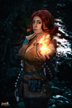 Triss Merigold - The Witcher 3 by NunnallyLol