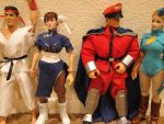 My street fighters lined up by Shadaloo1989