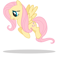 Fluttershy Vector by ParaPups