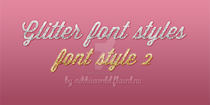 Glitter Styles by cherryproductionsorg