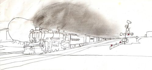 Boston Buffalo and Atlantic 2-8-2 #616 by Tracksidegorilla1