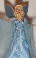 Blue Fairy OOAK Doll by lulemee